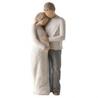 Figurine mariée enceinte