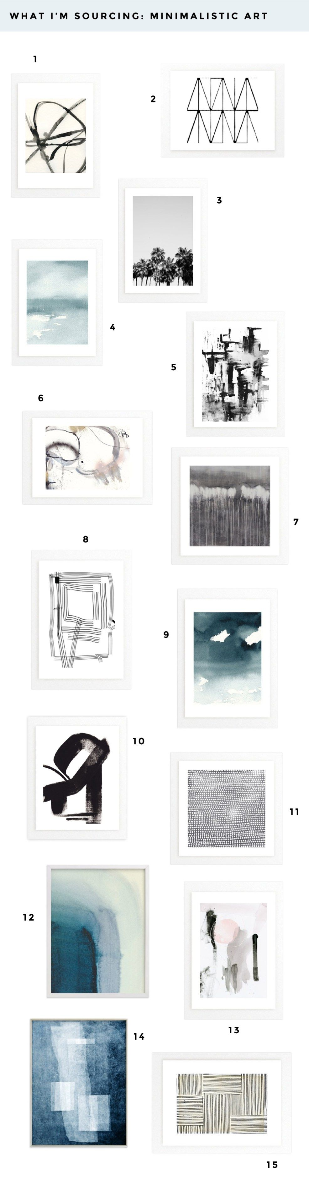 sourcing-minimalistic art