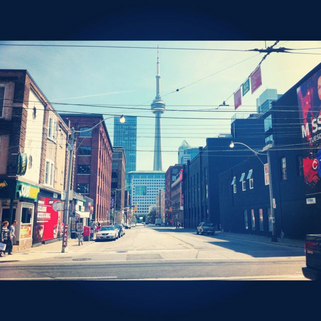 Queen Street West Toronto Toronto Ontario Canada O Canada Queen Street West