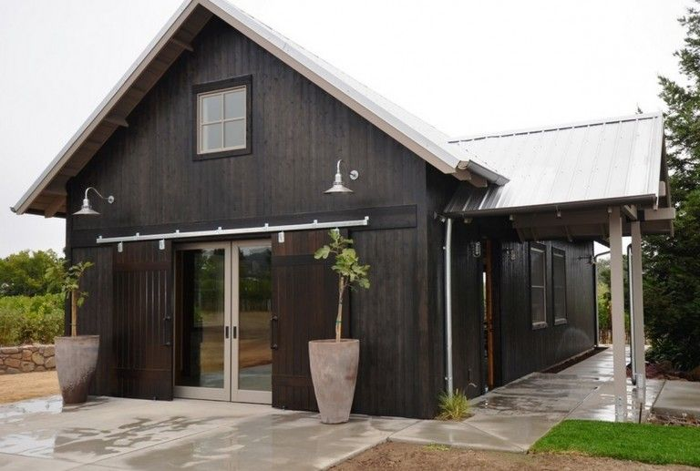 Classic Gooseneck Barn Lights For Boutique California Winery | Blog