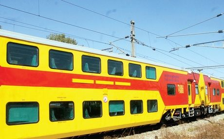 Chugging On The Chennai Bangalore Double Decker Ac Train On A Trial Run In Bangalore On Sunday Express Photo In 2021 Travel And Tourism Train The Second City