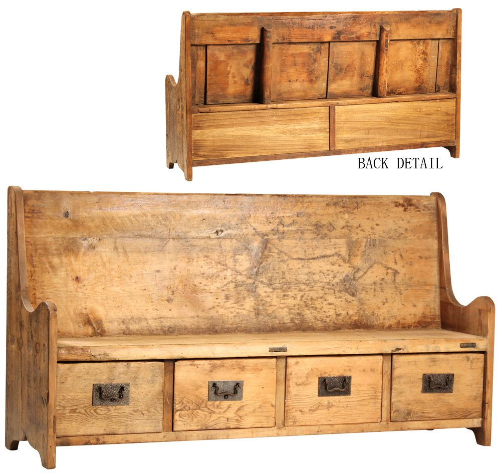 Magnificent Reclaimed Wood Bench With Reclaimed Wood Back By Caraccident5 Cool Chair Designs And Ideas Caraccident5Info