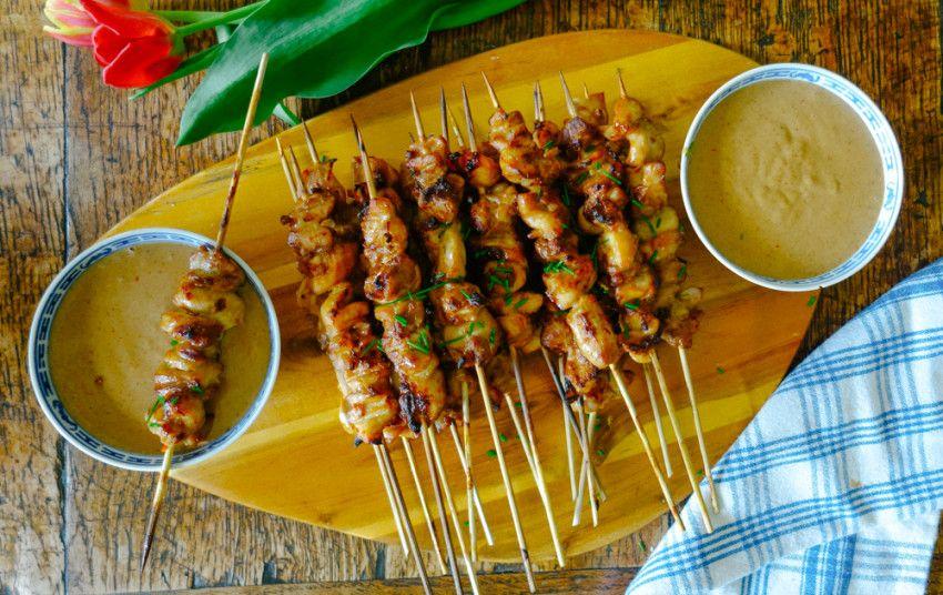 The Greatest Chicken Satay! - The Londoner | Satay recipe ...