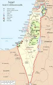 map of Israel - Google Search