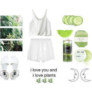 i love you and i love plants