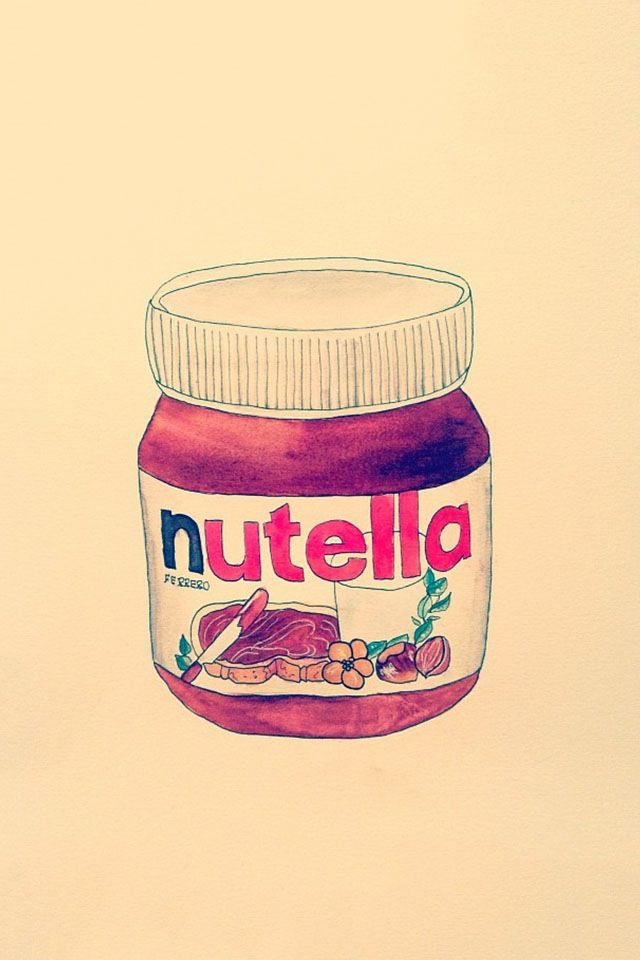 Nutella Iphone Case Cover By Liane Henley Starbucks Wallpaper Pretty Backgrounds For Iphone Wallpaper Iphone Cute
