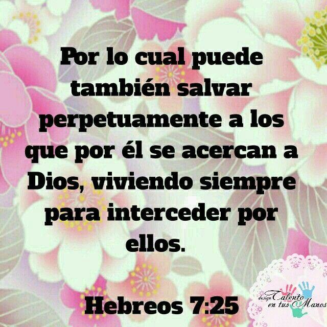 Hebreos 7:25 | Cortos de la Biblia  | Crear pagina web