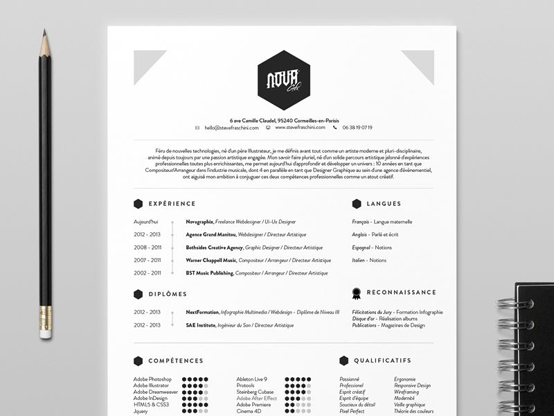 Novagraphix   Resume  Design Resume Resume Ideas And