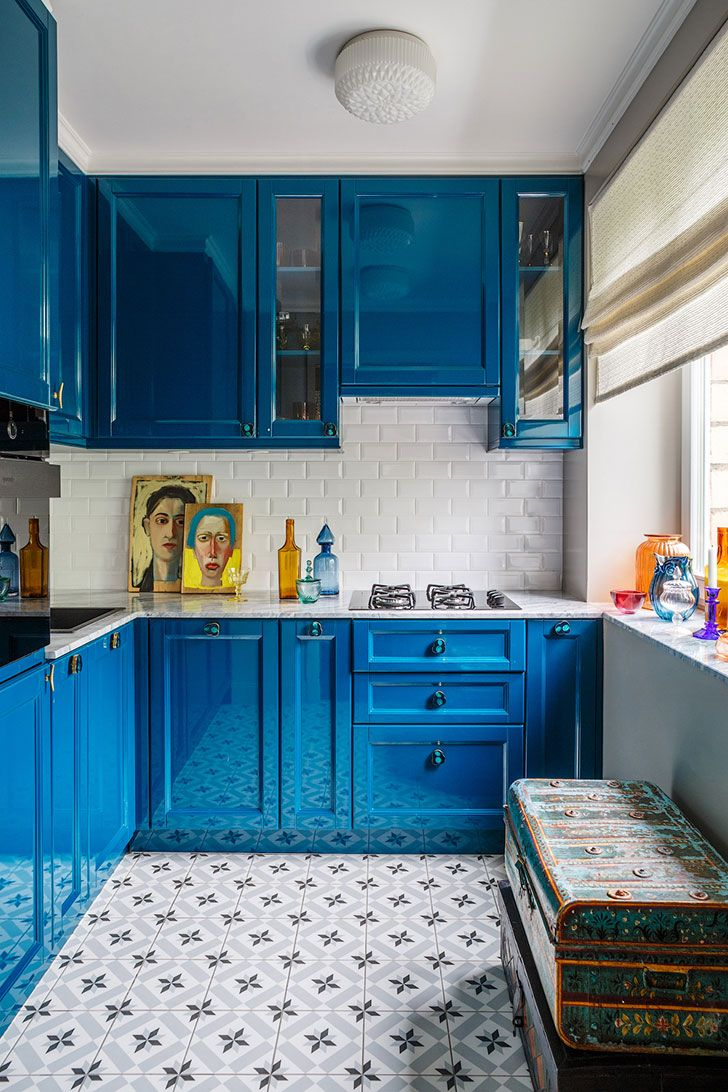 Designer Nadya Zotova tiny Moscow apartment: full story | Interiors ...