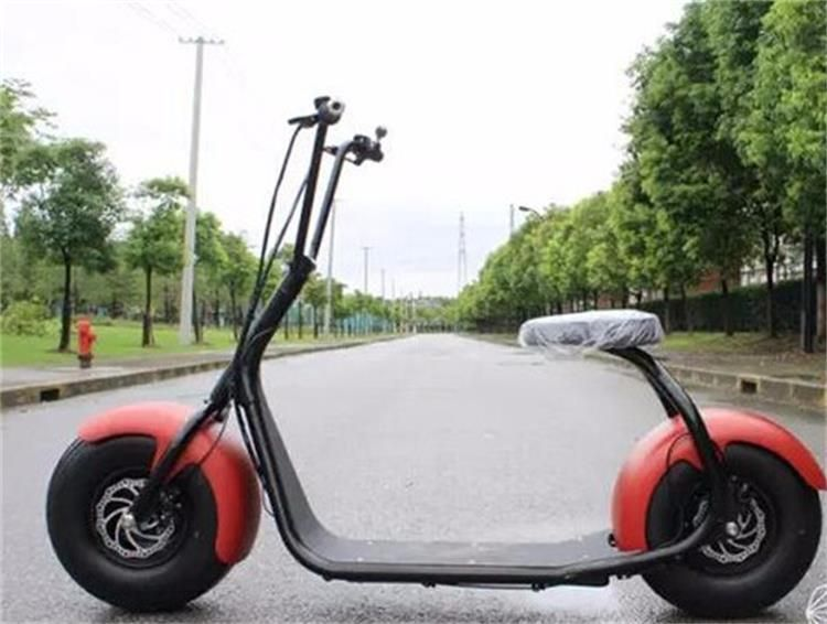 60v12ah Harley Electric Scooter City Coco 1000w With Fat Tire