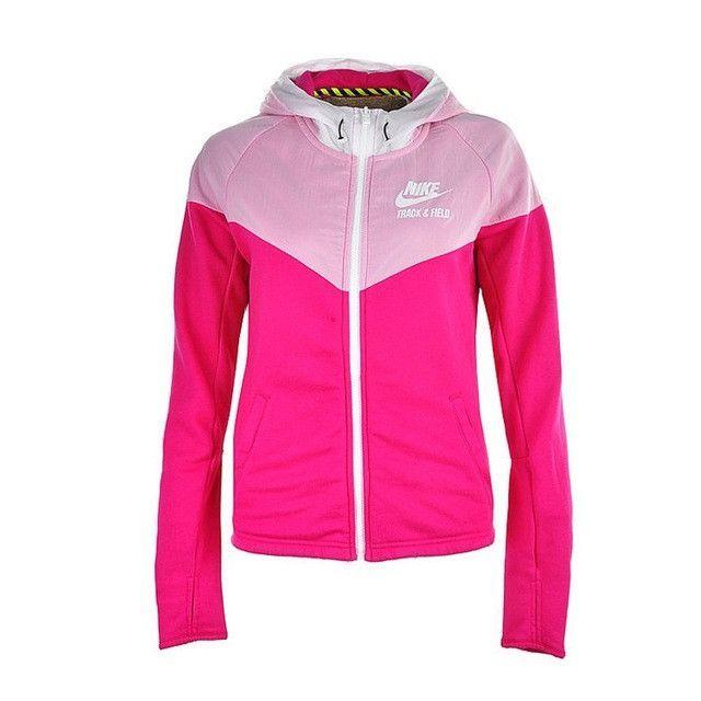 56e84b645b Original MIX FABRIC WINDROW Women s jackets Hooded Sportswear ...