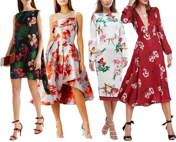16 Spring Summer Wedding Guest Dresses for 2017 | Floral wedding ...