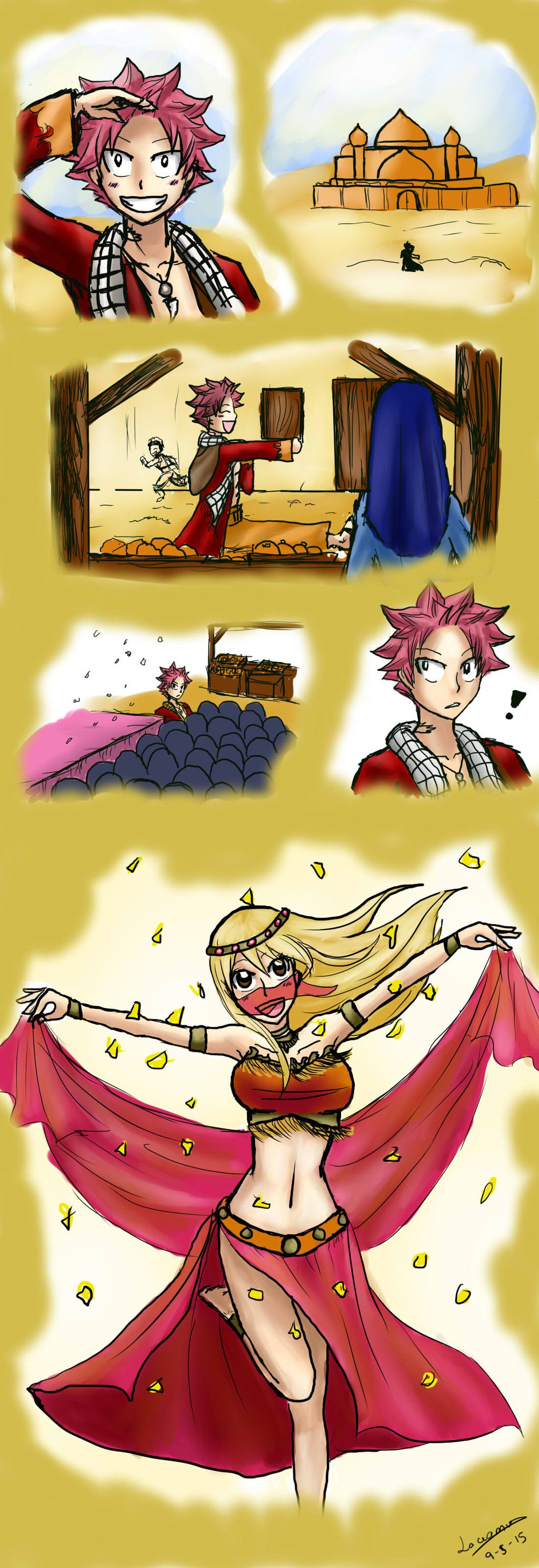 Fairy Tail Fanfiction End Revealed: Golden Like The Sun Chapter 1 By Lovamv.deviantart.com On