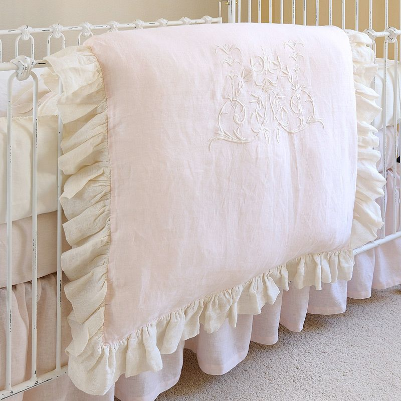 Pom Pom at Home Crib Bedding Celeste Linen Crib Duvet - Final Sale @LaylaGrayce