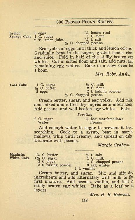 George Washington Cake Recipe Uk