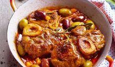 Recette : Osso bucco aux olives. #ossobuccorezept