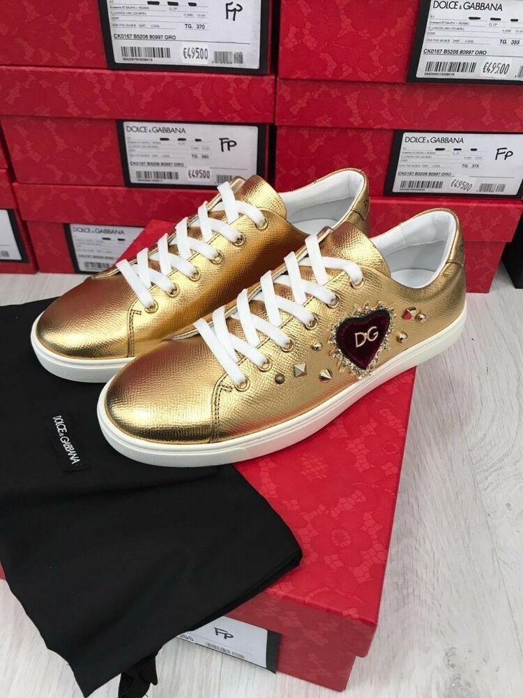 Dolce gabbana logo, Sneakers fashion
