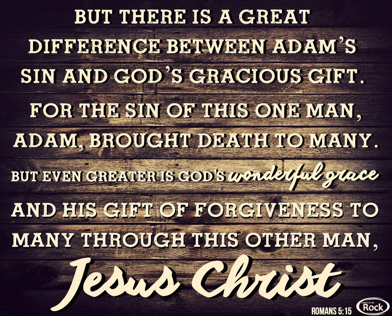 God's Guidance Quotes Romans 515  Quotesscripture  Pinterest  Roman Scriptures And