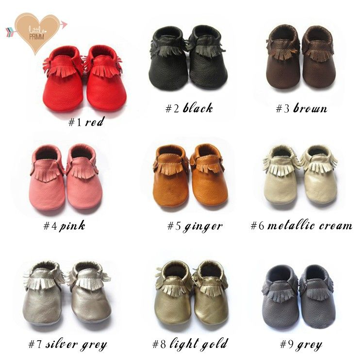 Adorable Baby Moccasins
