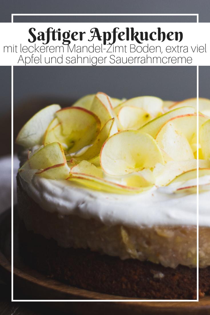 Saftiger Apfelkuchen Rezept Lecker Apfelkuchen Und Kuchen
