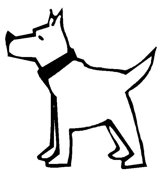 Free Coloring Pages Of Dogs And Cats : Drawings of dogs free animal coloring pages cat thru elephant