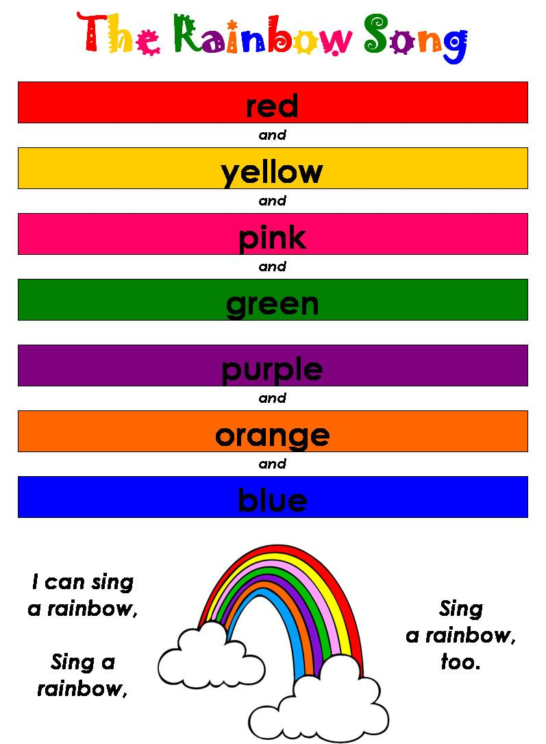 Color Therapy What You Wear Can Help Your Mood Rainbow Songs Preschool Songs Kindergarten Songs [ 1086 x 797 Pixel ]