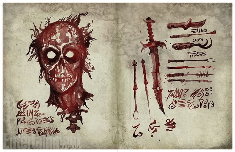 See Exclusive Pages From The Necronomicon In Ash Vs Evil Dead Ash Evil Dead Evil Dead Book Evil Dead Movies