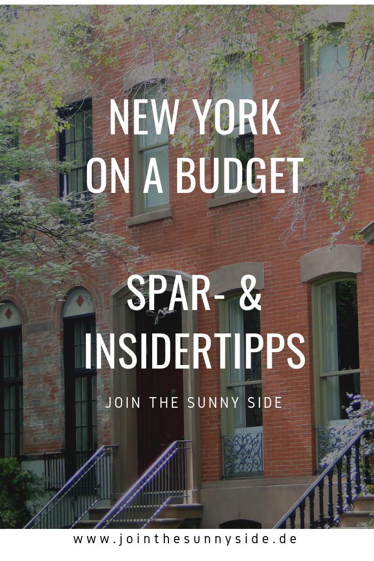 Du planst eine Reise nach New York? Ich verrate dir wichtige Spar- und Insidertipps, denn New York muss nicht immer teuer sein! #newyorkcity