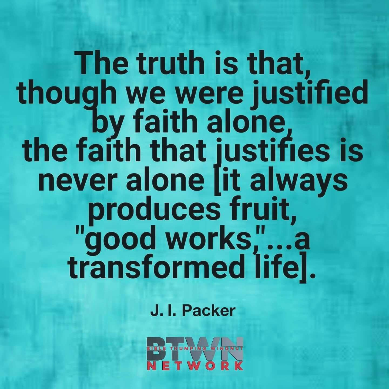 Religious Quotes About Faith Christian Quotes  J.ipacker Quotes  Saving Faith  True Faith