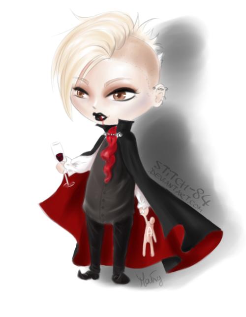 Bill Kaulitz Halloween Wig 6