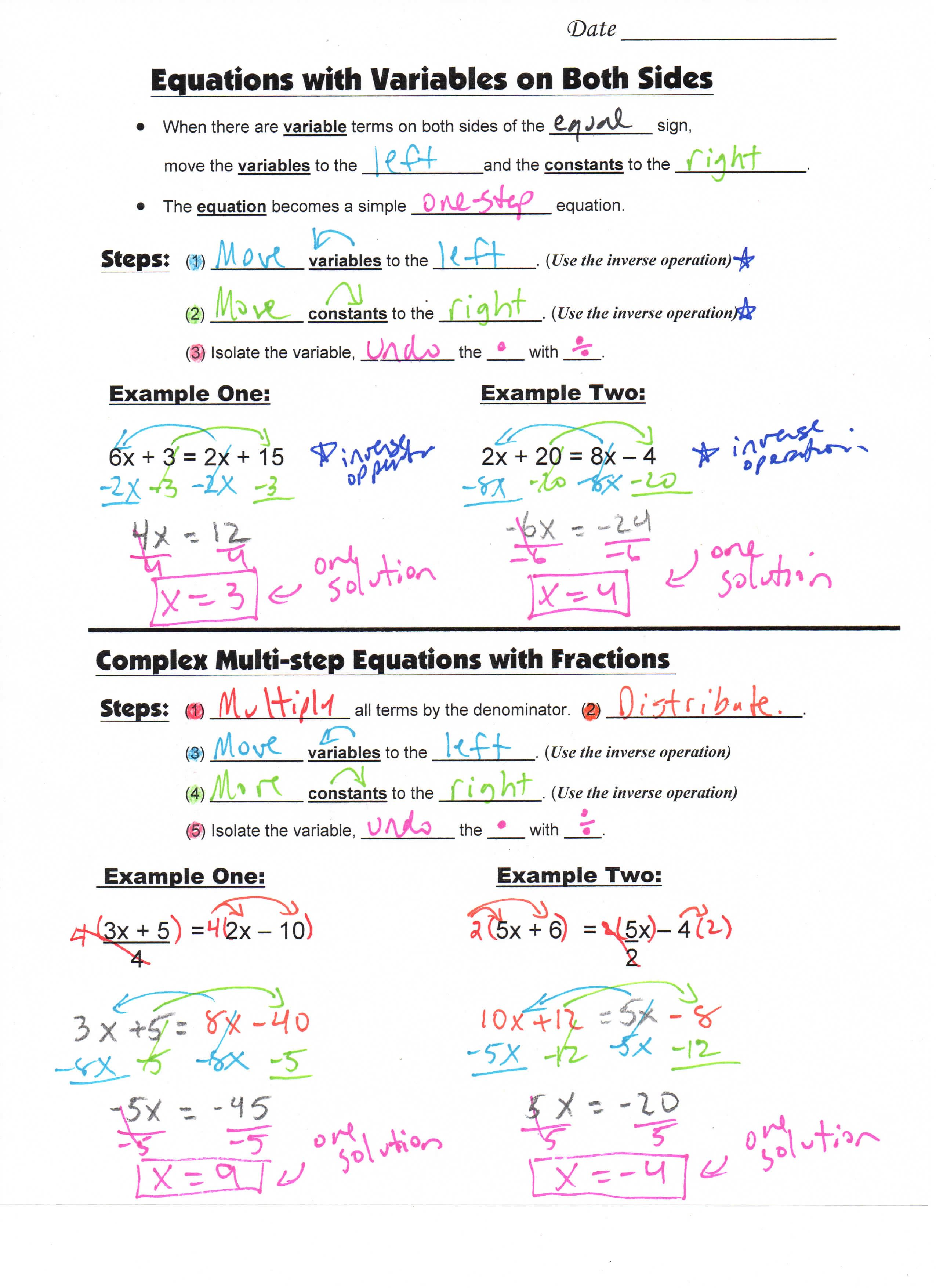 Product Math Example