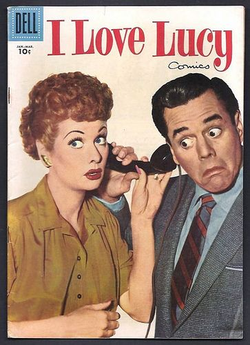 """1957 """"I Love Lucy"""" Comic Book 