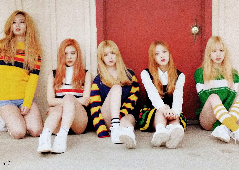 Ice Cream Cake Teaser Pictures : Red Velvet (Seulgi Irene Wendy Joy Yeri) Ice Cream Cake ...