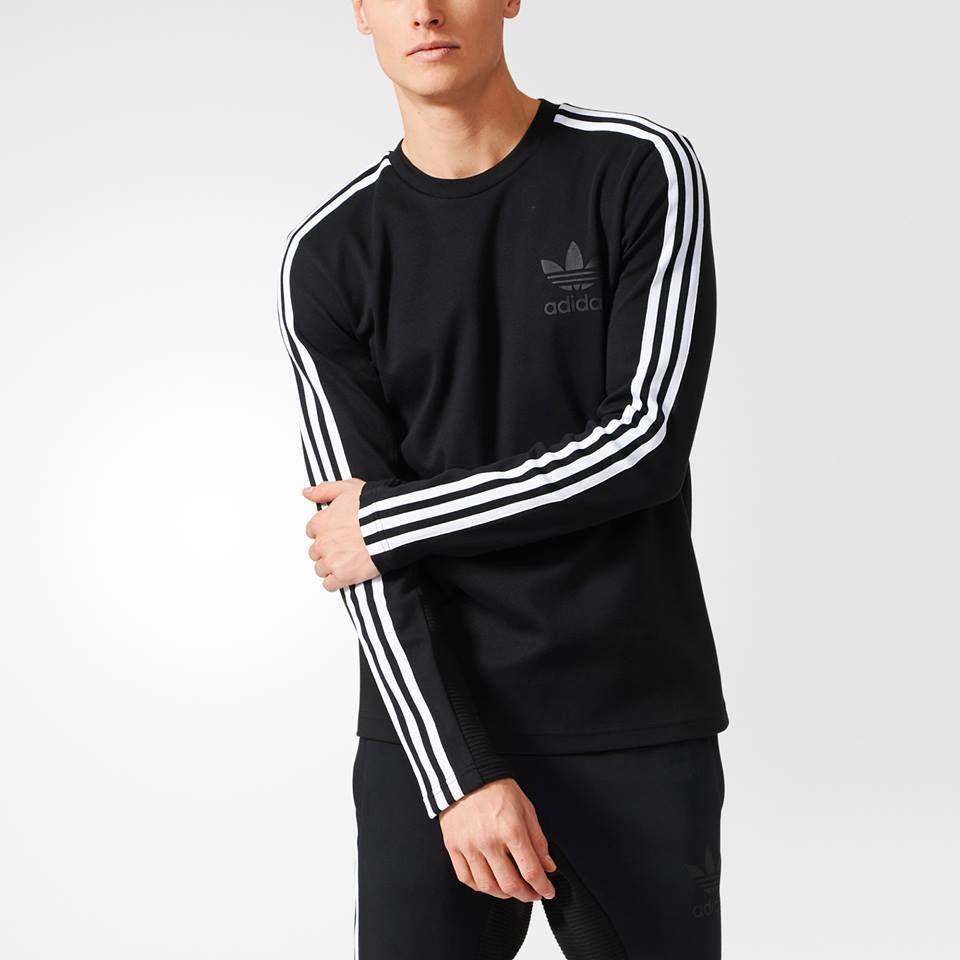 Adidas comisariada Crew Tee hombre  adidas Originals Pinterest adidas