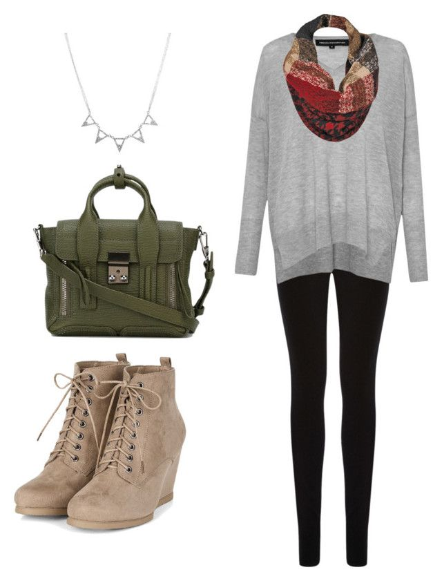 """Winter"" by lizzie-elsdon on Polyvore featuring Oasis, French Connection, 3.1 Phillip Lim and Black Rivet"