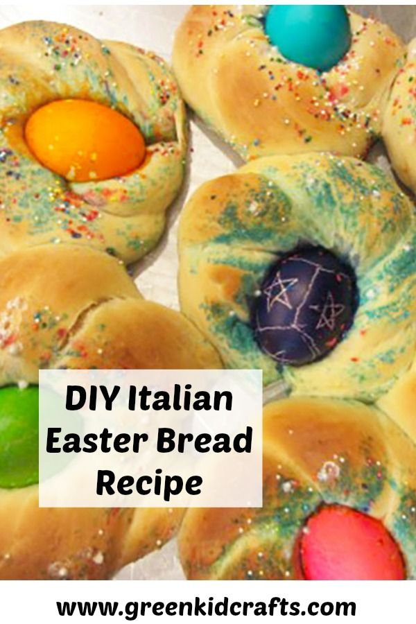 Italian Easter Bread Easter Traditions Sweet Bread And Easter