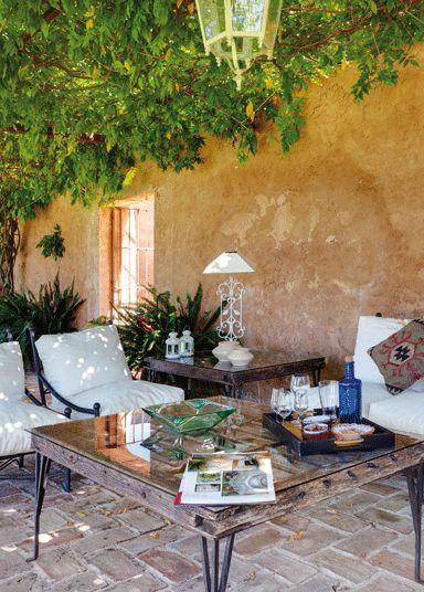 Terraza De Los Molinos Del Maestre En Sevilla Suelos De Exterior Espacio Pequena Para Jardineria Sala De Exterior