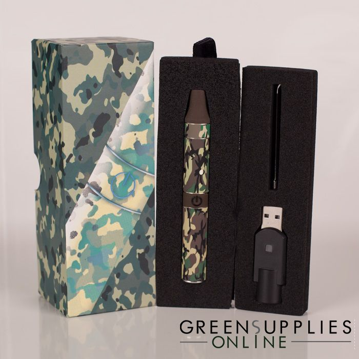 Yocan Evolve Camouflage Edition 3 in 1 Wax, Dry Herb, and Thick Oil Vape Pen  Kit | Vape