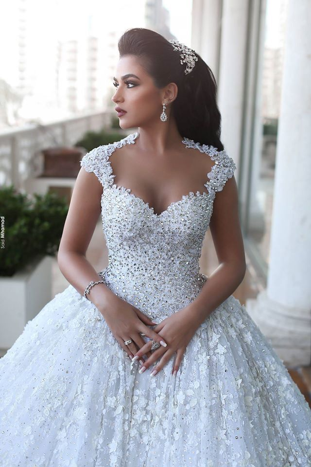 said mhamad wedding dresses 2016 | hechuras | pinterest