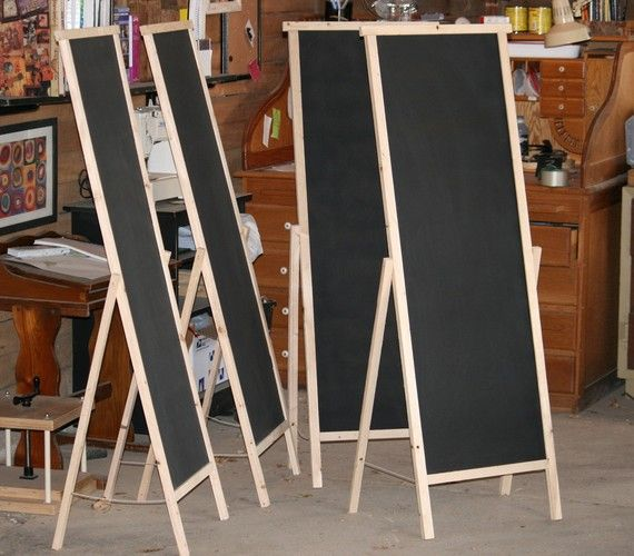 Chalk Board For Craft Fairs Could Turn These Into Cork