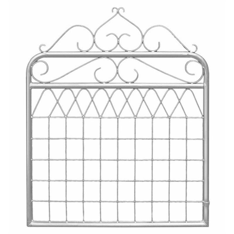 Rapidmesh 1 X 1 2m Balmain Galvanised Federation Gate Galvanized Garden Gate Design Fencing Gates