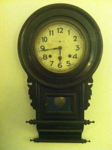 Meiji Clock Company Antique Pendulum Wall Clock 1895 1910 Ebay 1 000 00 Antique Pendulum Wall Clock Clock Wall Clock