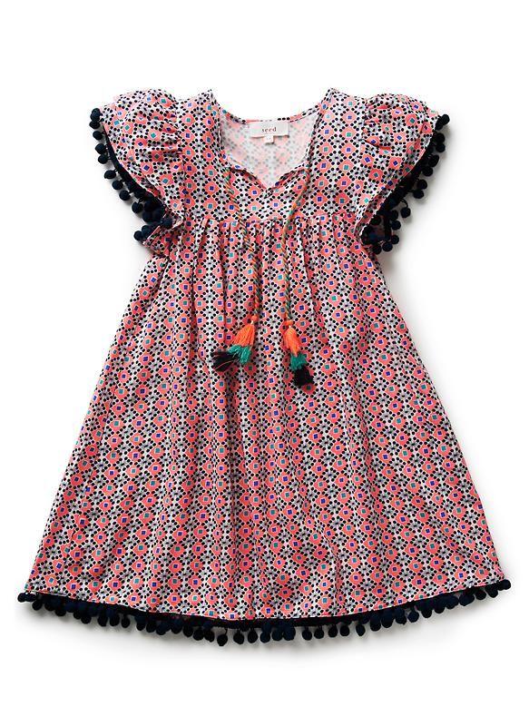 0aebe0b4b183 Seed Heritage Vestidos Para Niñas, Vestidos Batas, Mama Con Bebe, Ropa De  Nena