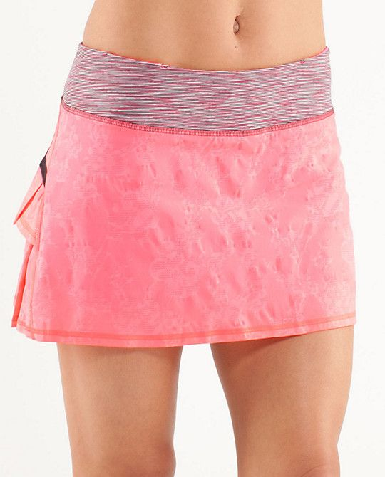 It's like they were thinking about me when they made my favorite running skirt in pink.
