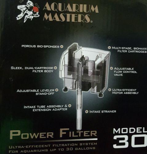 Aquarium Filter For 30 Gallon Tank