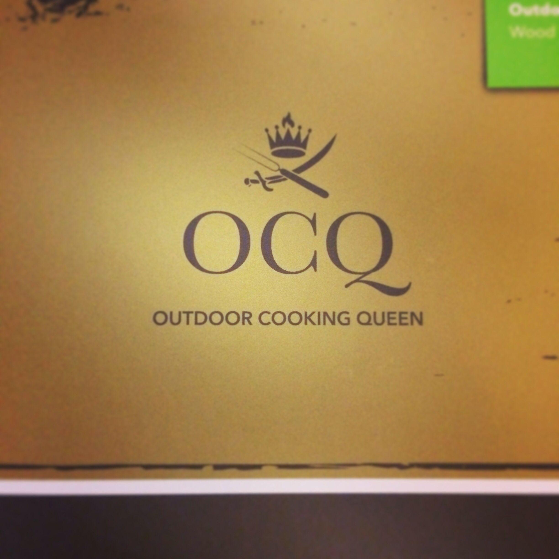 branding ocq outdoor cooking queen. outdoorküche gartenküche