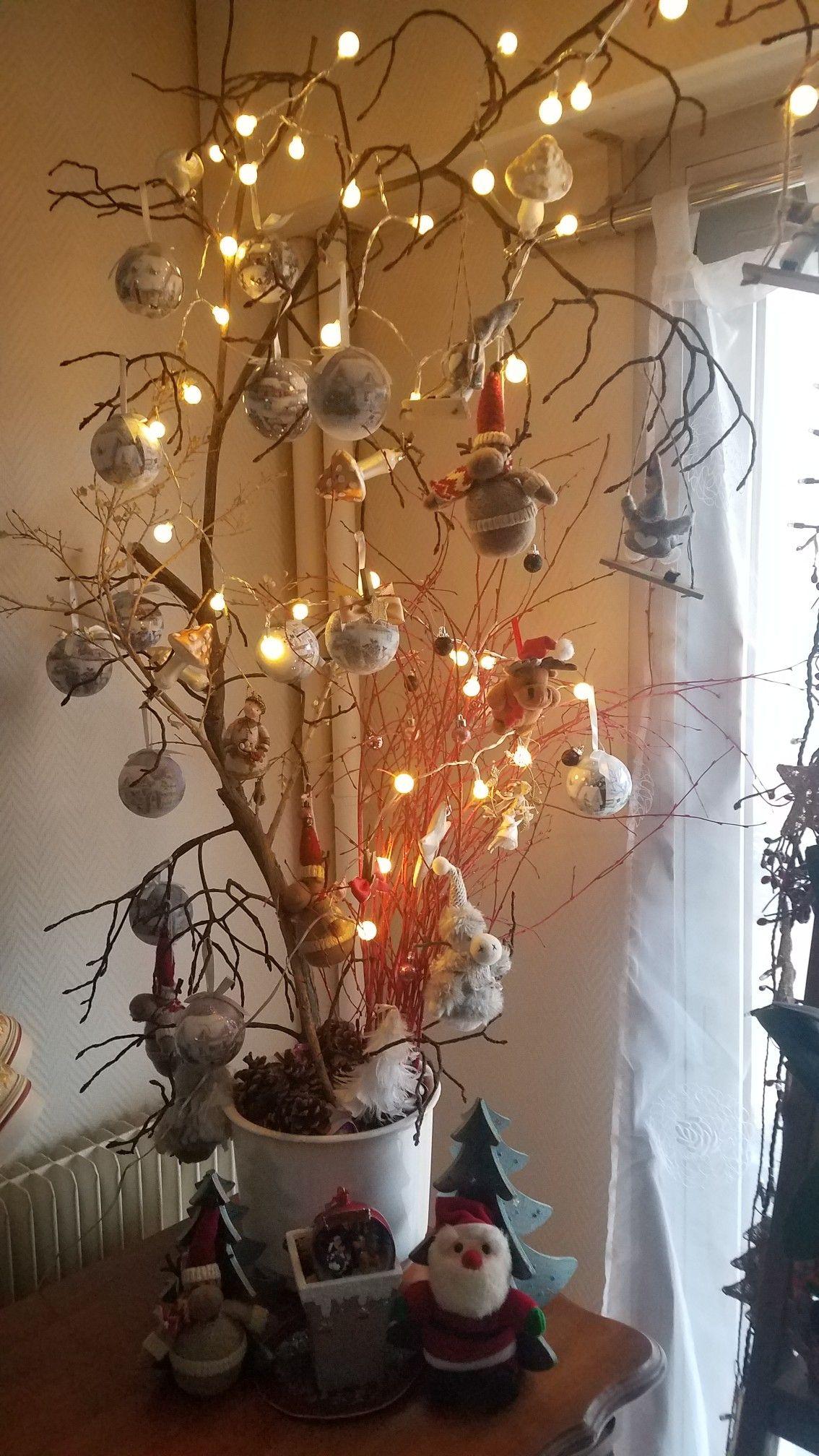Branche D Arbre Sapin De Noel title} (avec images)   decoration noel, sapin de noel