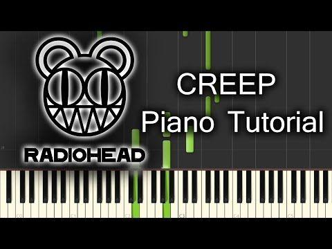 Radiohead Creep Piano Tutorial Youtube Aprendiendo A Tocar