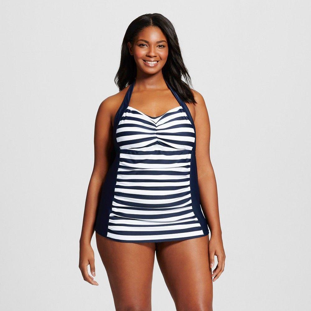 fb5680d885dfc Women s Plus Size Shay Tankini Tops - Ava   Viv