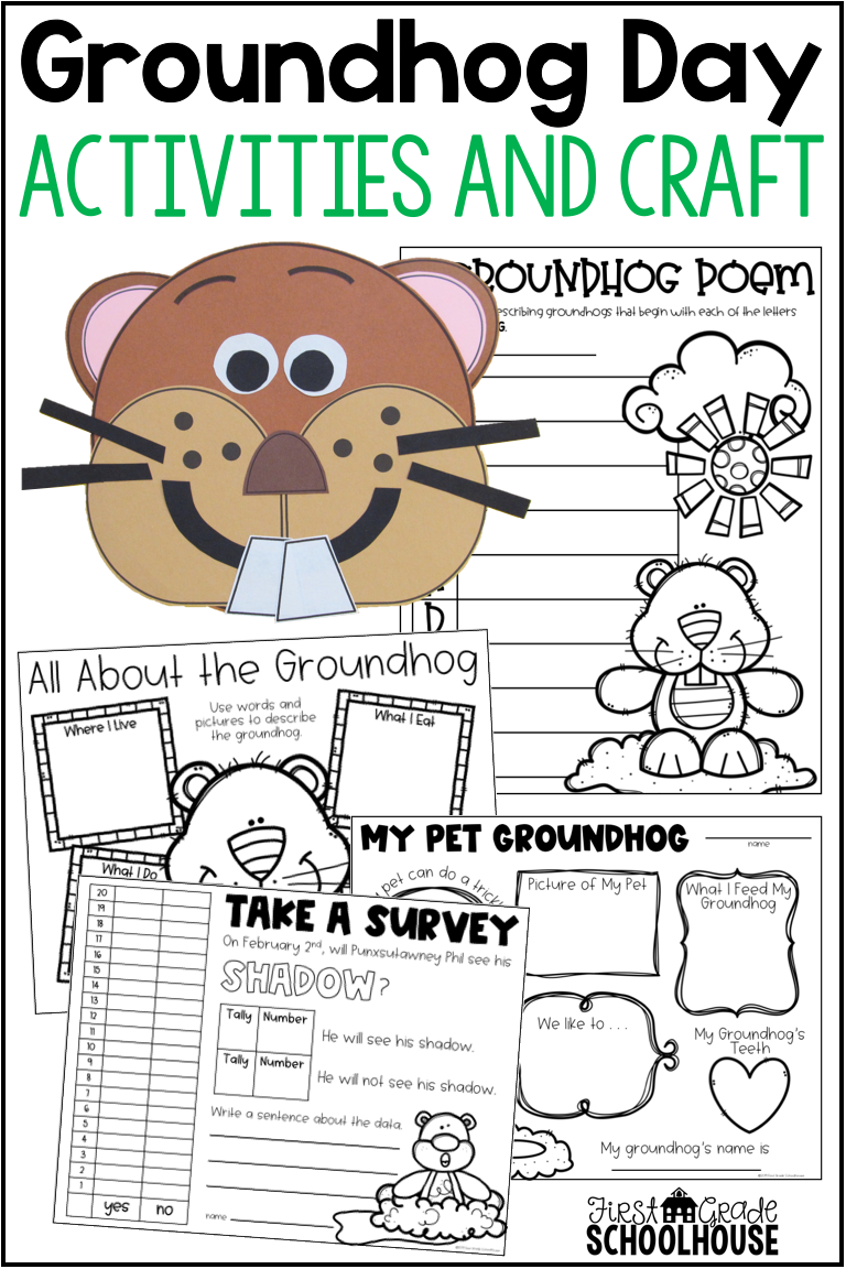 Celebrate The Groundhog Day Holiday With Activities That Include Informational Posters B Groundhog Day Activities Groundhog Day Winter Kindergarten Activities [ 1152 x 768 Pixel ]